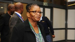Image of Defence and Military Veterans Thandi Modise