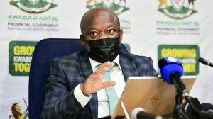 Image of KwaZulu-Natal Premier Sihle Zikalala