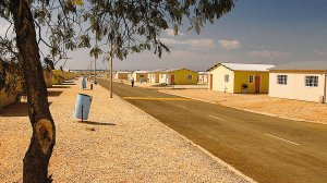 Image of a community housing project