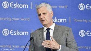 Image of Eskom CEO Andre de Ryter