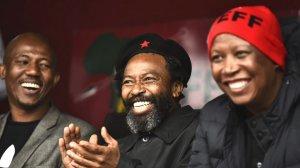 Image of abaThembu King Buyelekhaya Dalindyebo & EFF leader Julius Malema