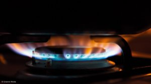 Image of flame from gas stove
